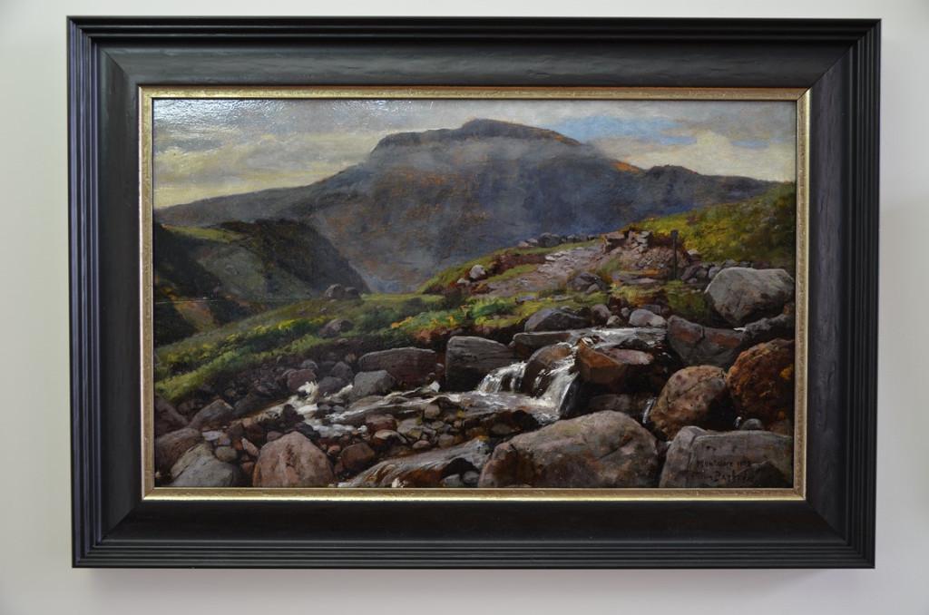 Cesar Pattein.Huile sur panneau.XIXème siècle.
