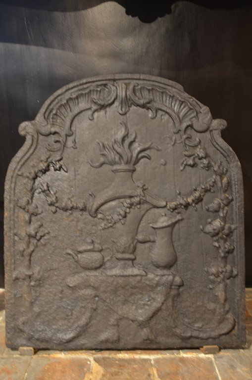 Louis XV Period Fireplace Plate.