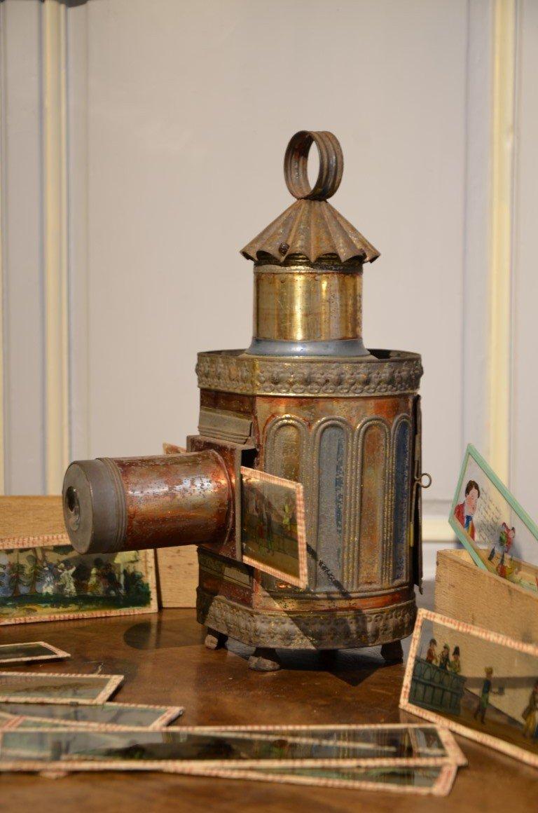 Magic Lantern. Second Half Of The Nineteenth Century.