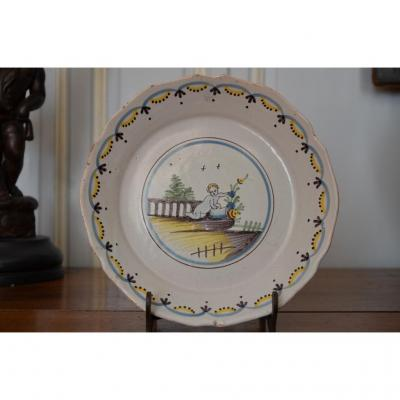 Plate. Nevers.fin 18th.