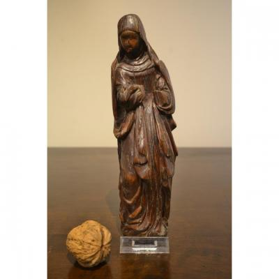 Small Boxwood Sculpture, 16th Century.