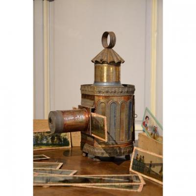 Lanterne magique. Seconde moitié du dix-neuvième siècle.