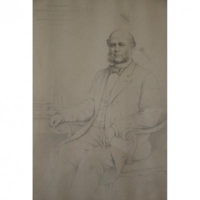 Jules (alphonse) Deturck: Portrait Of A Notable.