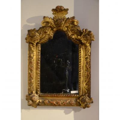Regency Pediment Mirror.