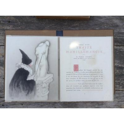 """""""la Vie Des Seins"""" -docteur Jacobus-rare Book Imagined By Louis Icart."""