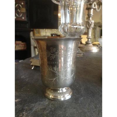 Timpani On Pedestal In Silver Minerva / Goldsmith Pe.