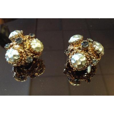 Pair Of Vintage Earrings.