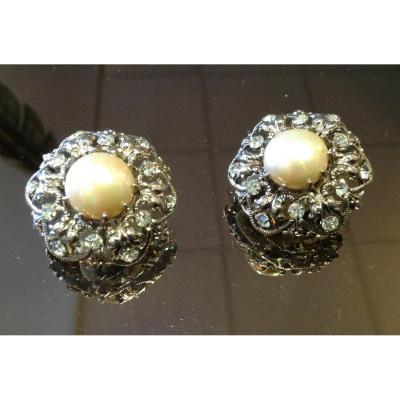 Pair Of Vintage Earrings