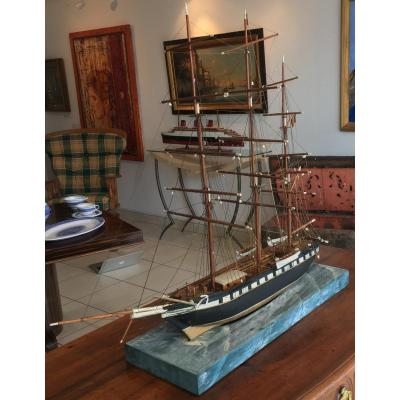 Model Ship Late Eighteenth - Early Nineteenth Century