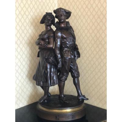 Bronze De Joseph Osbach