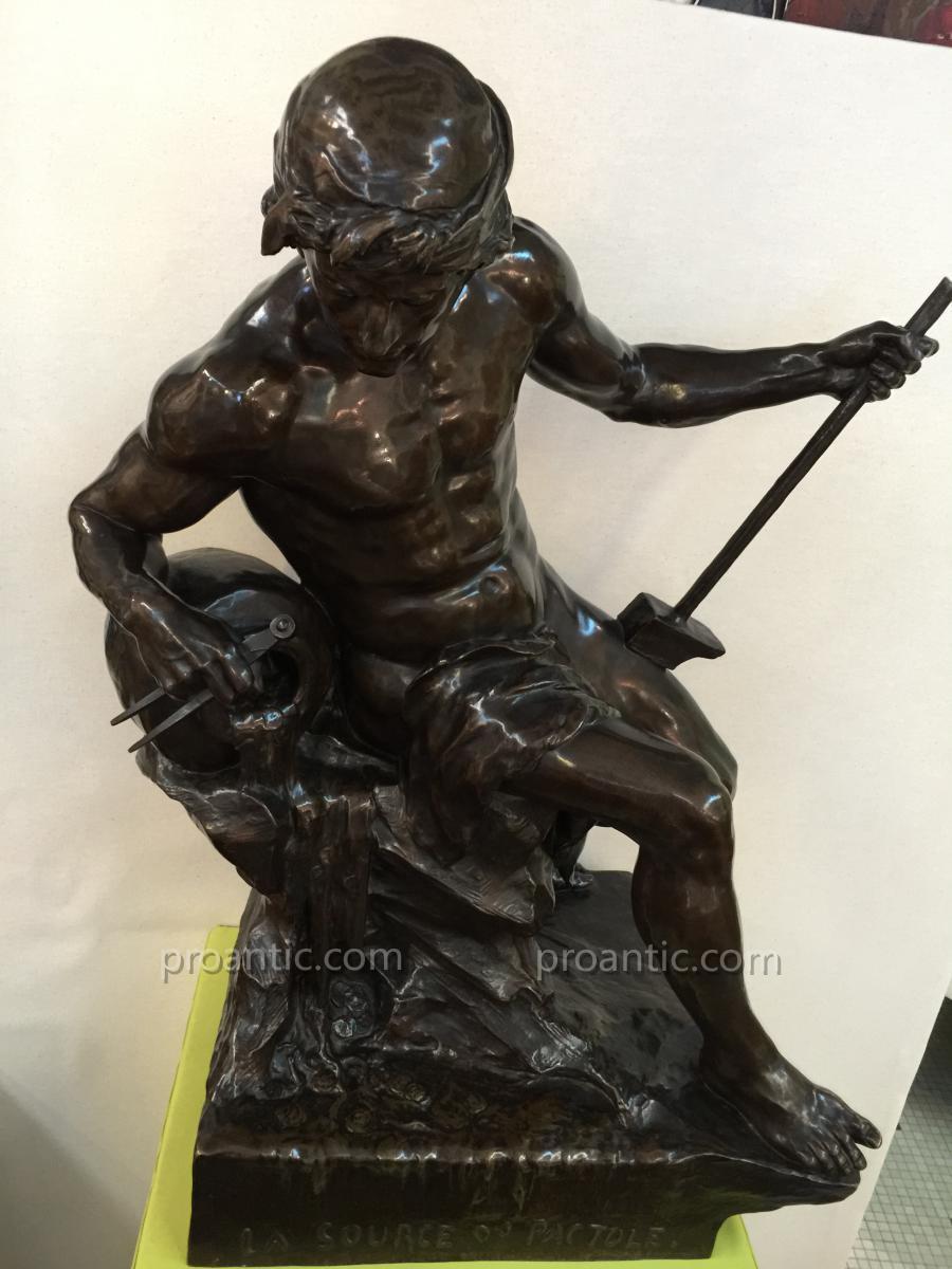 Beau Bronze Emile Picault