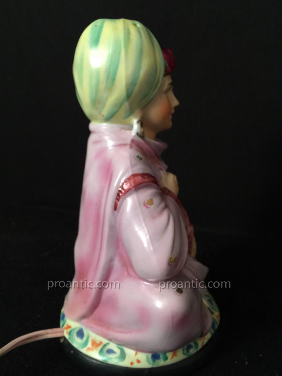 Belle Veilleuse En Porcelaine-photo-1