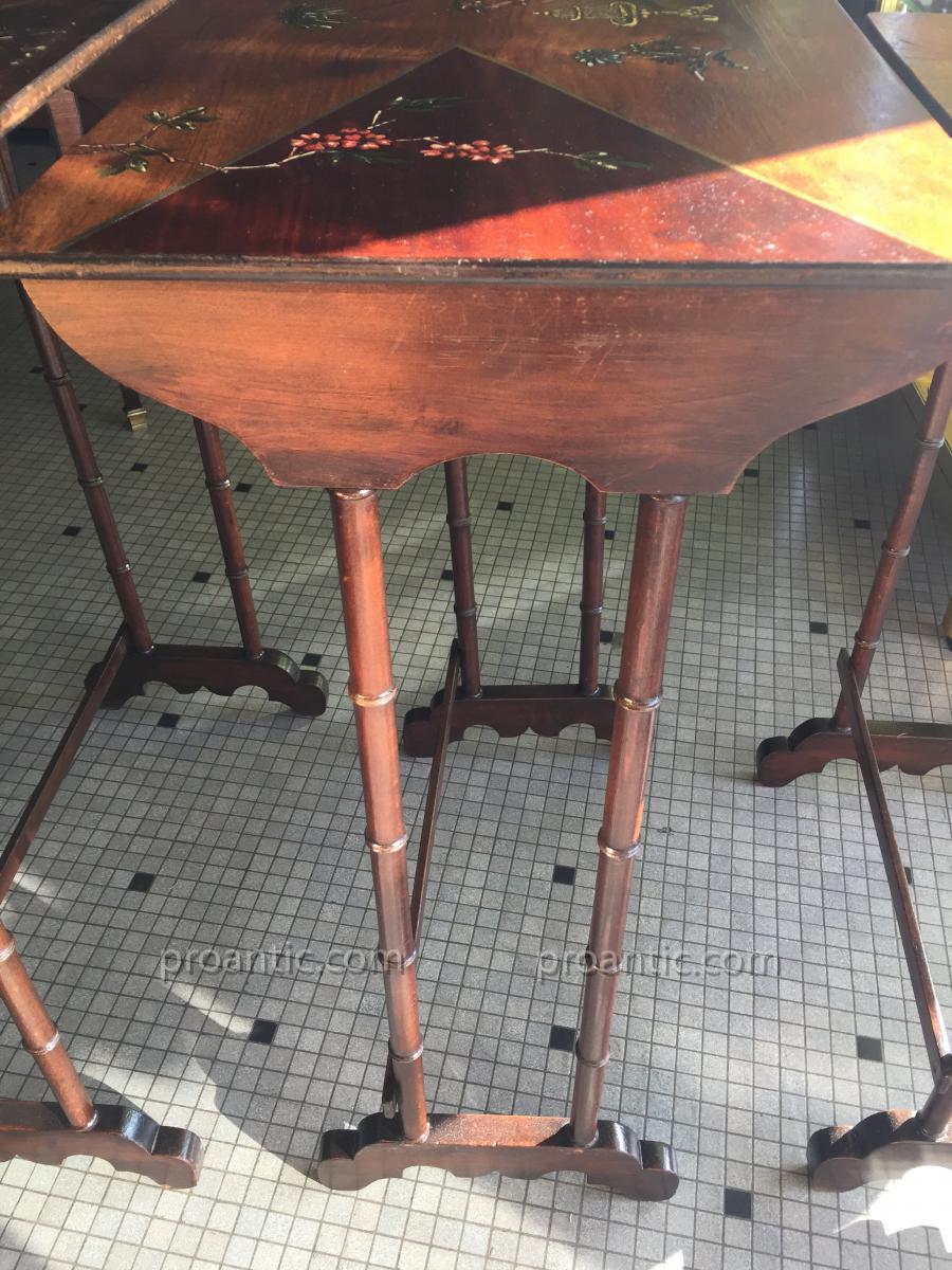 Belles nesting tables tables - Les plus belles tables basses ...