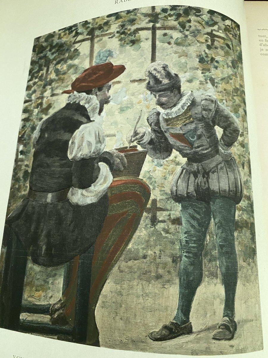 Rabelais Et L'œuvre De Jules -Arsène Garnier -photo-3