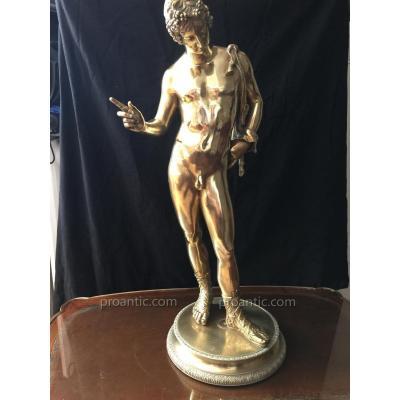 Joli Bronze Doré 19ème