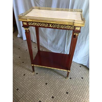 Belle Petite Table de Milieu Style Louis Seize