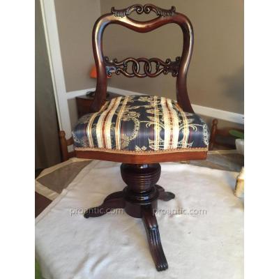 Very Nice Harpist Chair