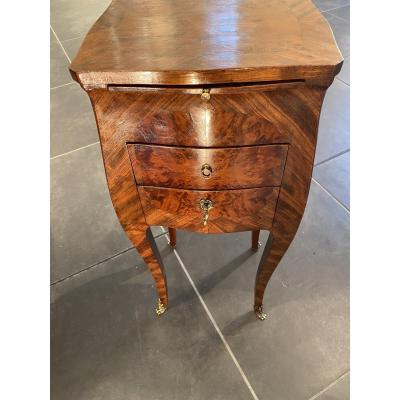 Very Nice Small Bedside Louis XV Style