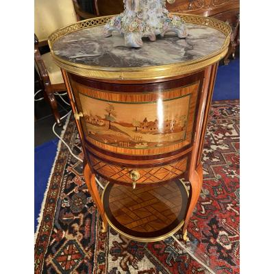 Very Pretty Round Flying Cabinet