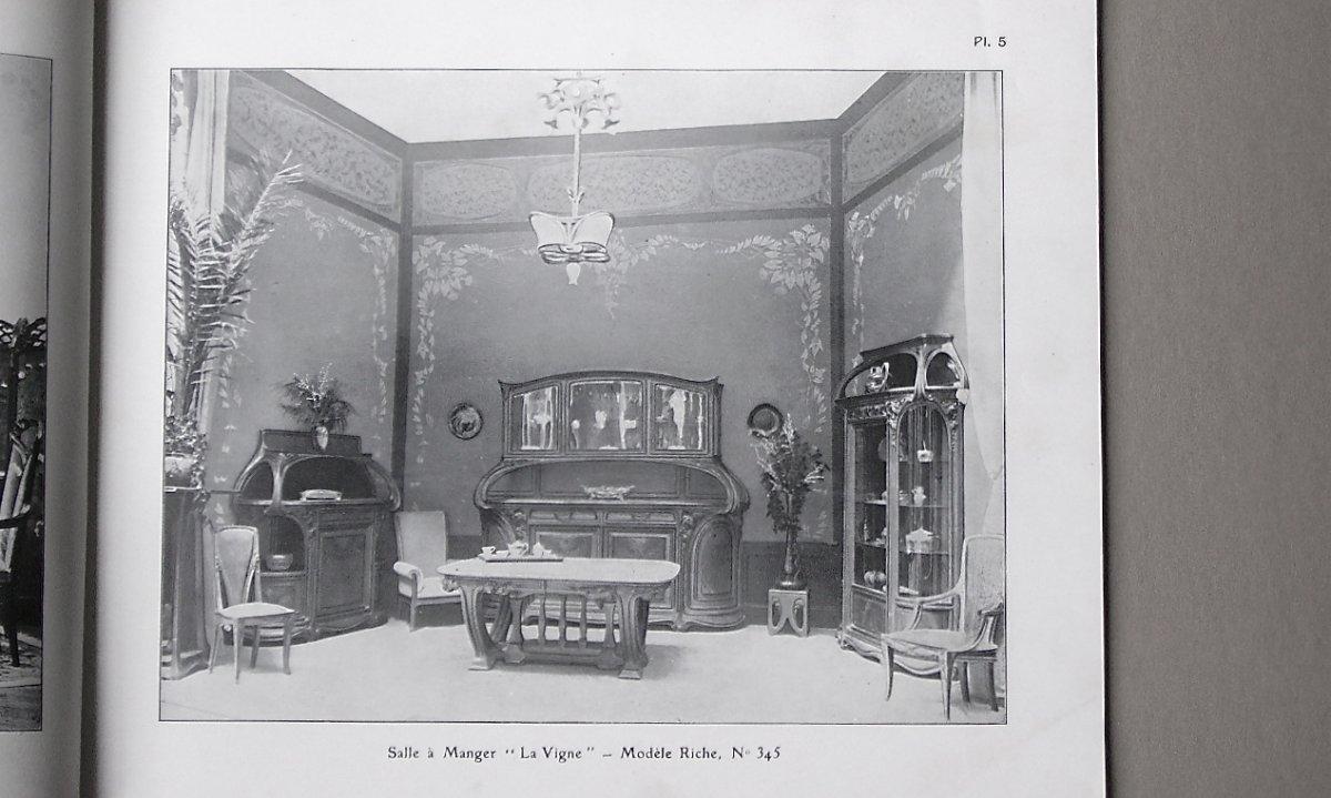 -   Catalogue  N°  1    -   Majorelle   -   Meubles / Ferronneries  etc.  -    Art   Nouveau  -