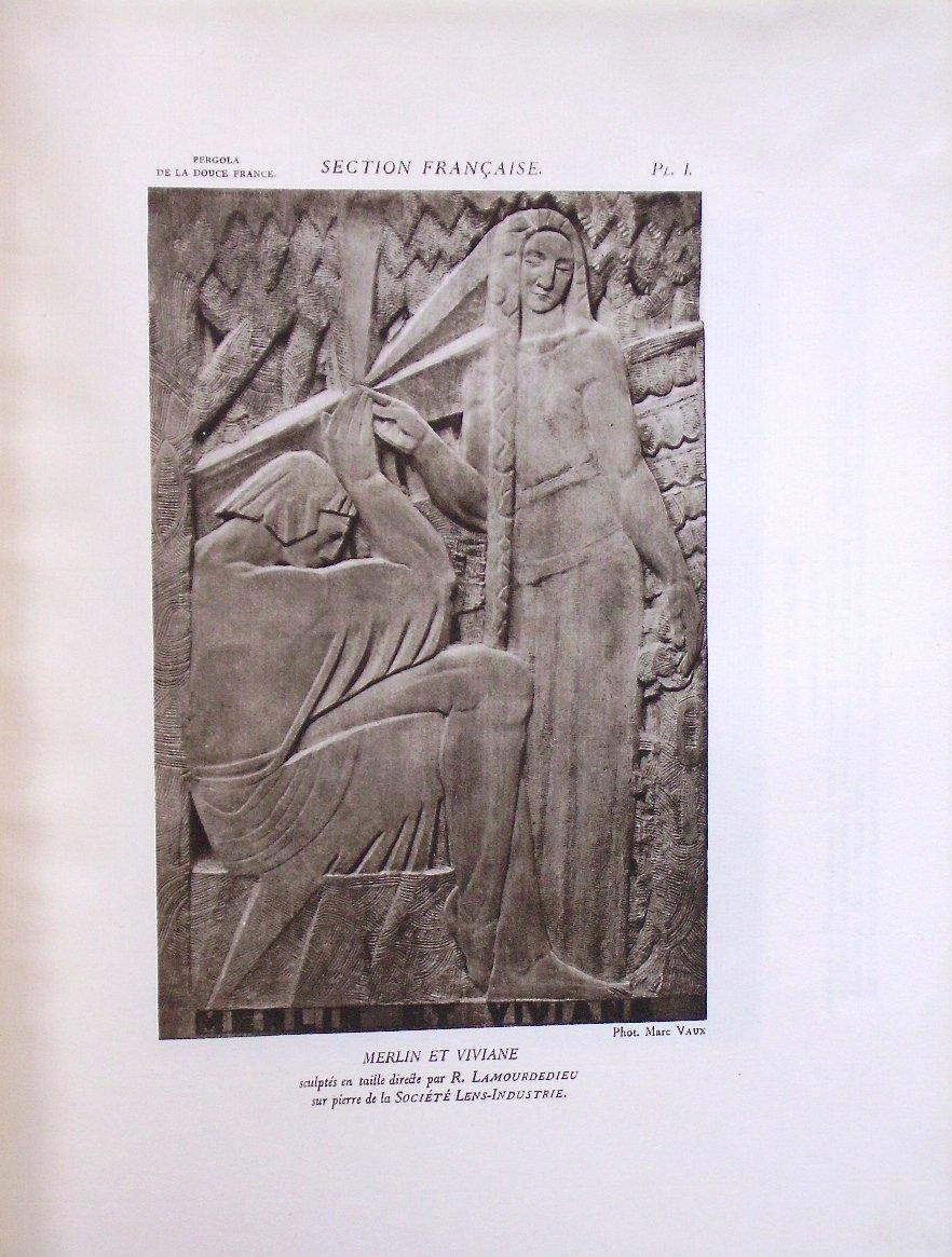 - Exposition  Internationale  Des  Arts  Décoratifs  -  Paris  1925  -  l'  Architecture  --photo-1