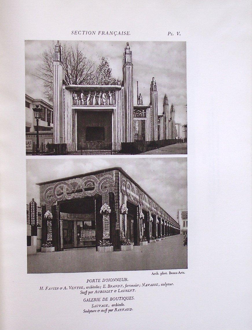- Exposition  Internationale  Des  Arts  Décoratifs  -  Paris  1925  -  l'  Architecture  --photo-2