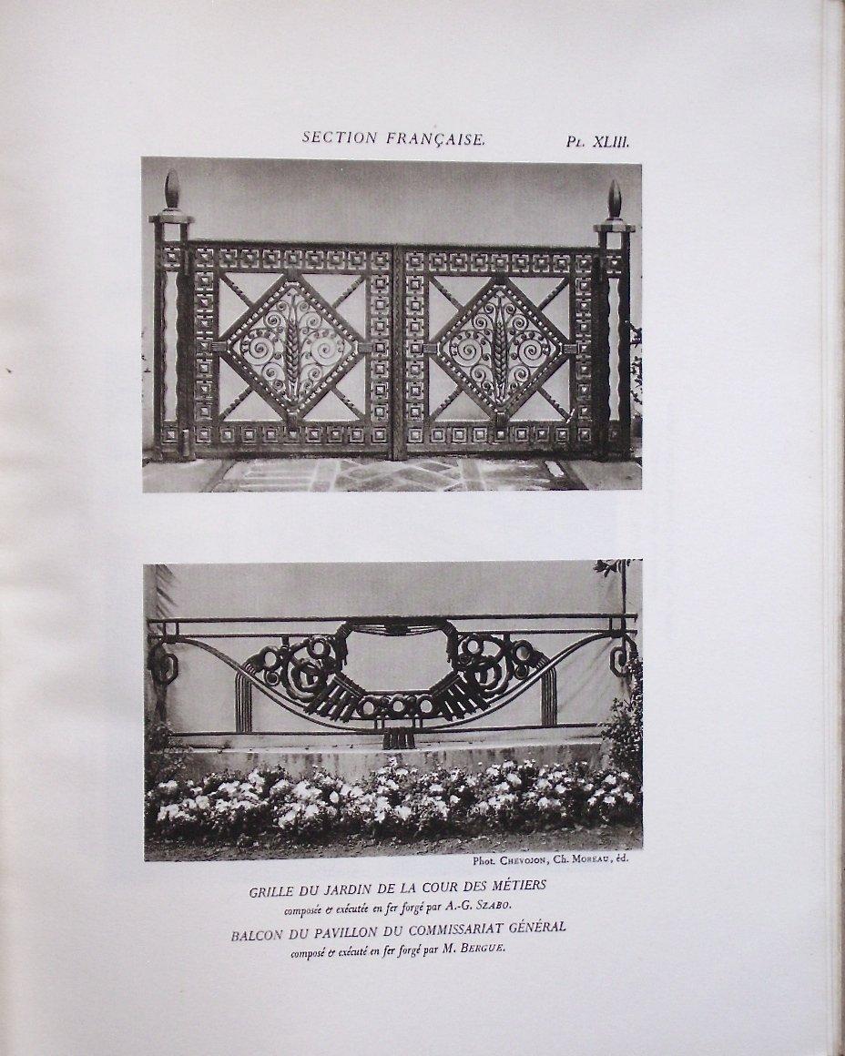 - Exposition  Internationale  Des  Arts  Décoratifs  -  Paris  1925  -  l'  Architecture  --photo-4