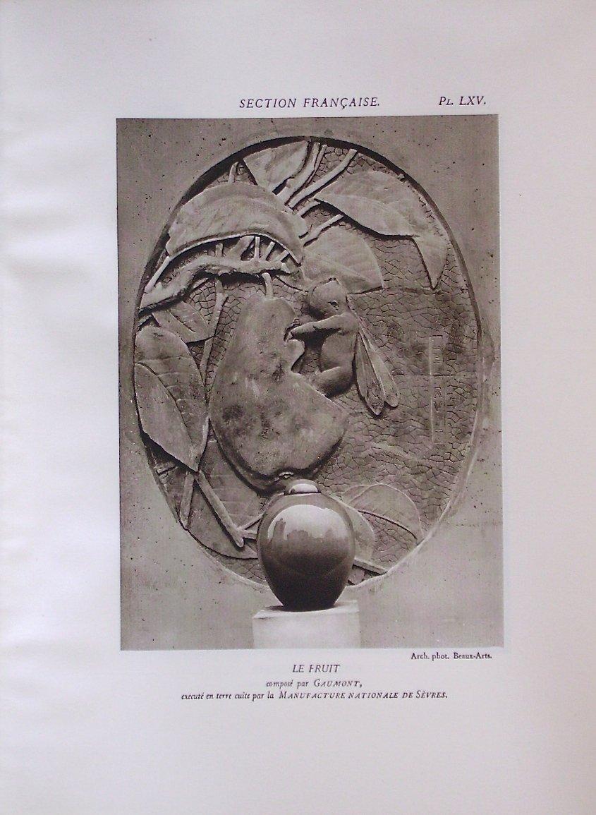 - Exposition  Internationale  Des  Arts  Décoratifs  -  Paris  1925  -  l'  Architecture  --photo-6