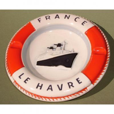 Cendrier Paquebot France