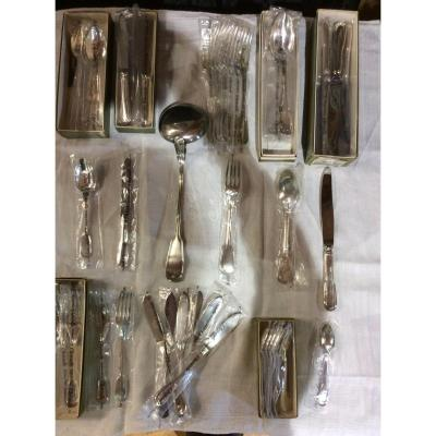 57 Christofle Cutlery Chinon Collection