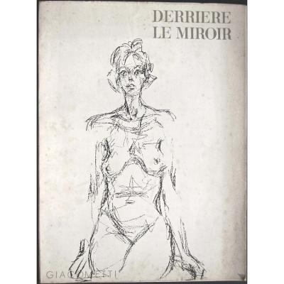 -  Giacometti  -  14  Lithographies   -  Derriere  Le  Miroir   N° 127   -   De   1961   -