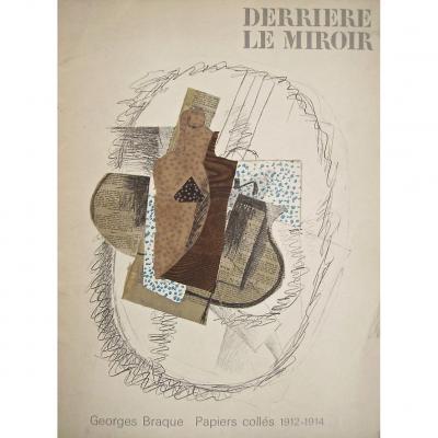-  Derriere  Le  Miroir  N°  138  -  Georges  Braque:  Papiers  Collés  1912 - 1914  -