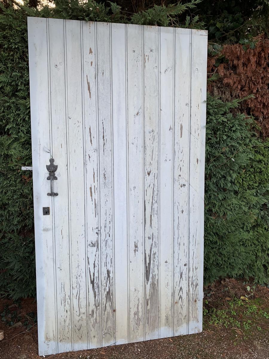Porte De Chai Peinte