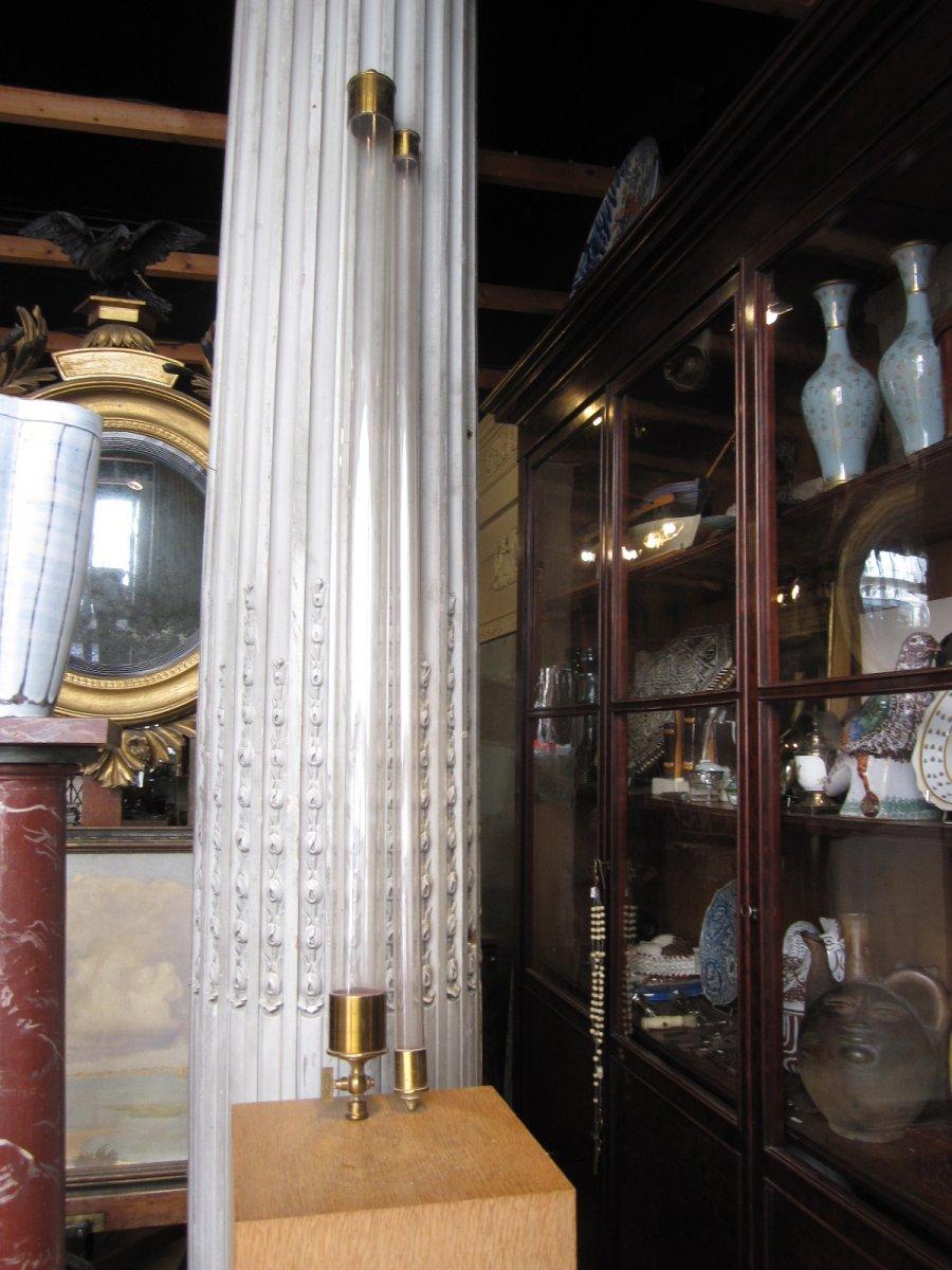 Paire De Tubes  De Newton , Fabriqué Par La Maison O.Hempel Et Cie Vers 1900.