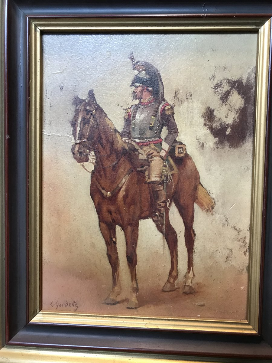 Cavalier Du Douzième Cuirassier Du Premier Empire.
