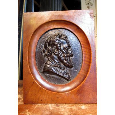 Profil En Bronze d'Henri Iv