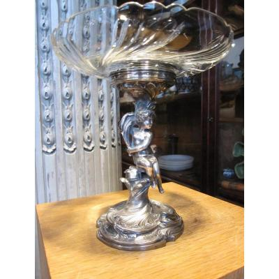 Silverware Cake Stand From Maison Victor Saglier.