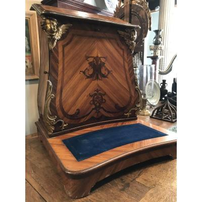 Oratory In Rosewood And Rosewood Marquetry