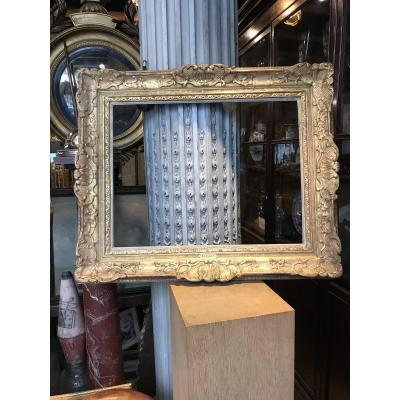 Regency Style Gilded Wood And Stucco Frame.