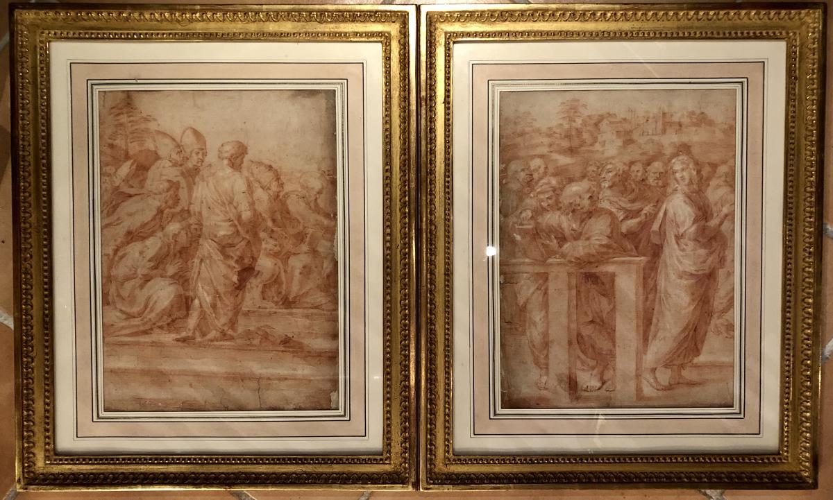 Andrea Sacchi (1599-1661) -la Dispute Du Saint Sacrement -