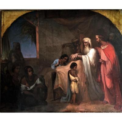 Jacog Bénissant Ménaché Et Ephraïm