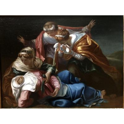 La Pâmoison De La Vierge. Jacques Stella. (entourage De),1596-1657.