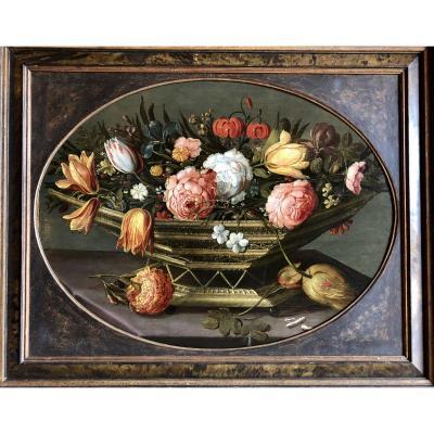 Composition Florale Johannes Bosschaert 1609-1650 (atelier)