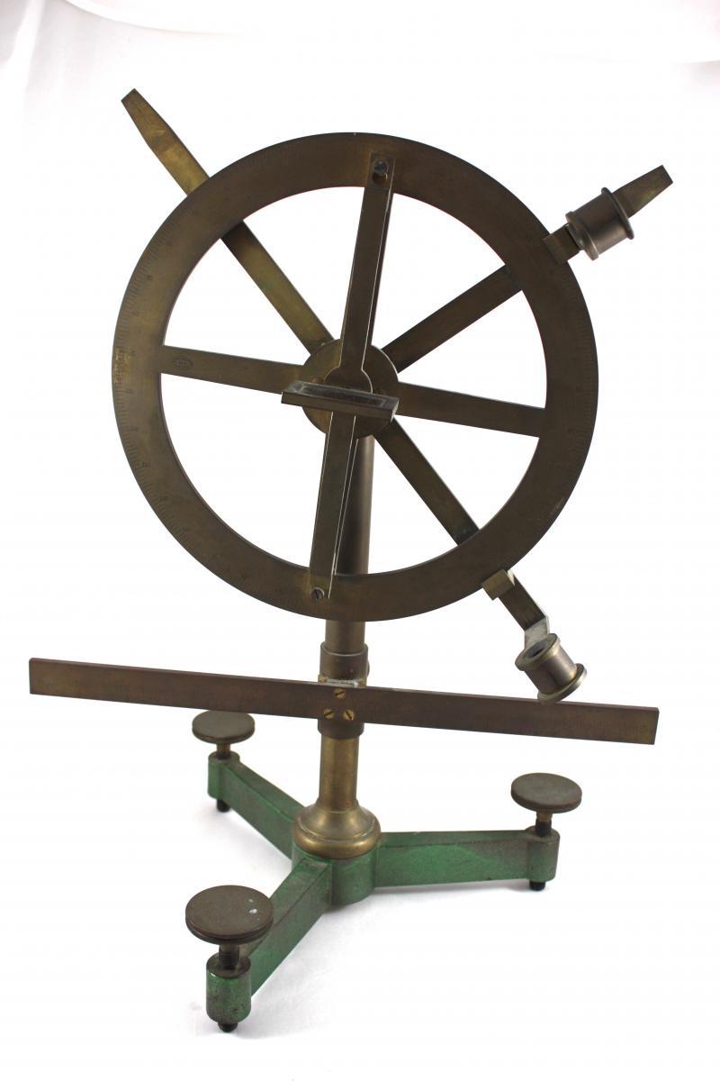 Silbermann Apparatus Signed Ducretet A Paris C 1890