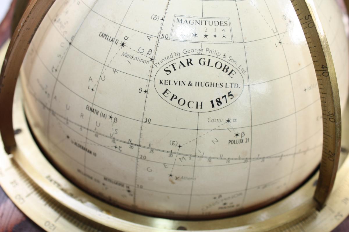 Globe Celeste Dit Tête De Veau Kelvin And Hugues 1875-photo-2