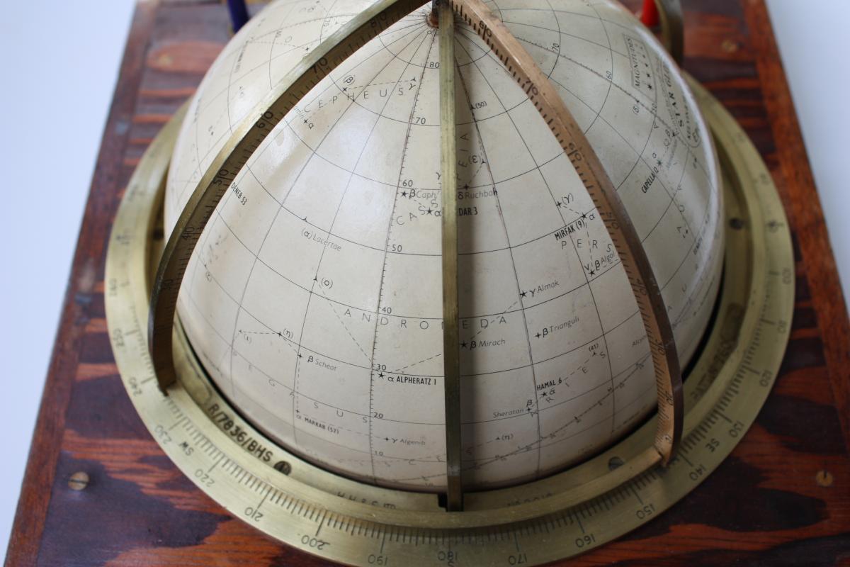 Globe Celeste Dit Tête De Veau Kelvin And Hugues 1875-photo-3