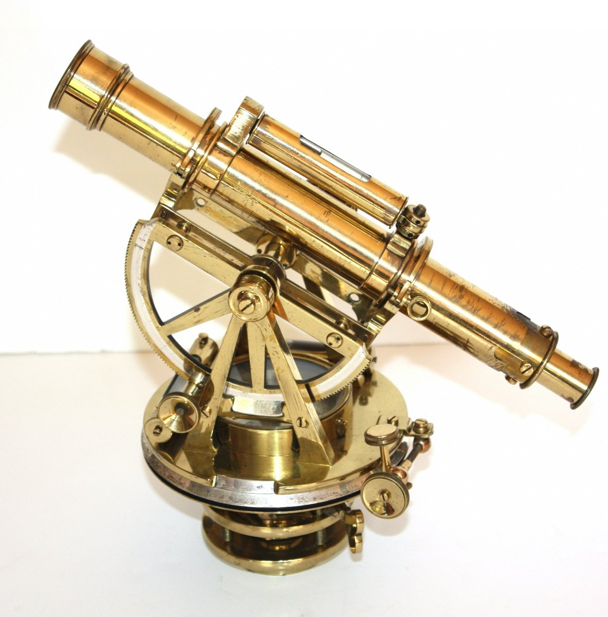 Theodolite Signed Troughton And Simms London C.1840