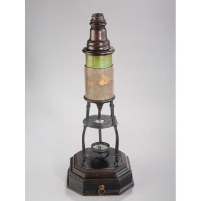 Microscope Culpepper Type Matthew Loft In Galuchat And Brass