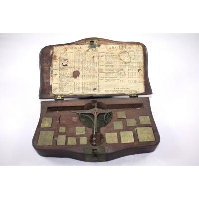 Italian Chess Scale Turin 1804