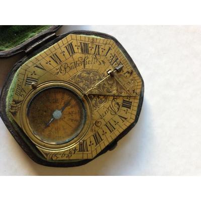 Butterfield C 1680 Solar Dial